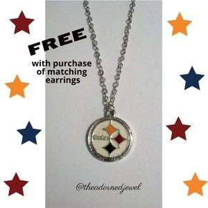 💙🏈Pittsburgh Steelers Fashion Jewelry Necklace🏈